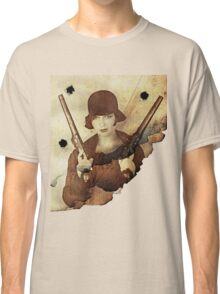 Louise Brooks  and her guns Classic T-Shirt