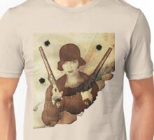 Louise Brooks  and her guns Unisex T-Shirt