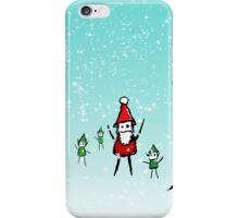 Shiny Metal Thing - Santa iPhone Case/Skin