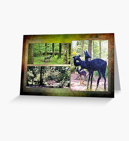 Beechenhurst sculptures Greeting Card