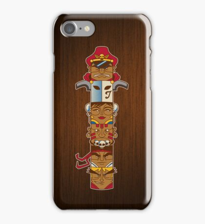 Street Fighter Totem iPhone Case/Skin