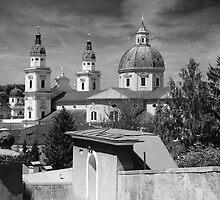 Salzburg Black & White ~ Austria, Europe by Sabine Jacobs