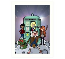 Adventure Time Lord Planetfall Art Print