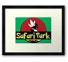 Safari Park Framed Print