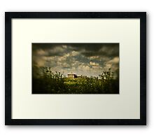 House on the Hill, Wilberforce NSW Framed Print
