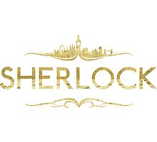 Golden Sherlock Photographic Print