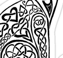 Celtic Cat #8 Tee Sticker