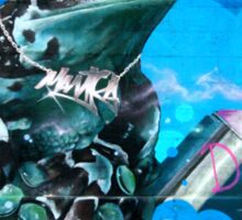 Frog Graffiti, Vienna, Austria Sticker