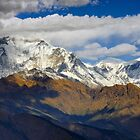 Awesome Dhaulagiri  by Harry Oldmeadow