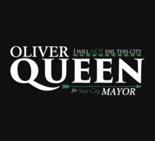Queen for Mayor One Piece - Long Sleeve