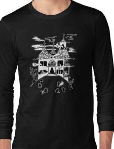 ▴ haunted house ▴ Long Sleeve T-Shirt