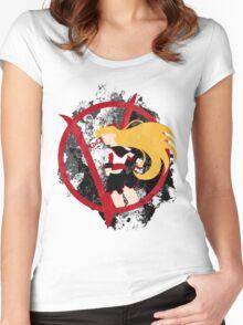 Sailor V for Vendetta Women's Fitted Scoop T-Shirt