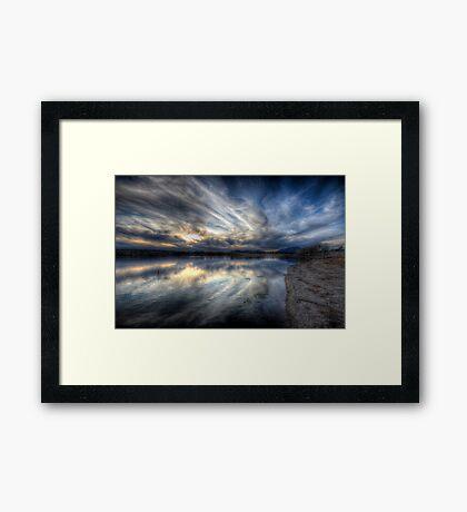 SwirlSet Framed Print