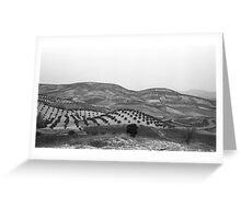 Andalucia Landscape Greeting Card
