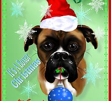 Wonderful-Christmas Boxer Dog by Lotacats