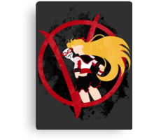 Sailor V for Vendetta Canvas Print