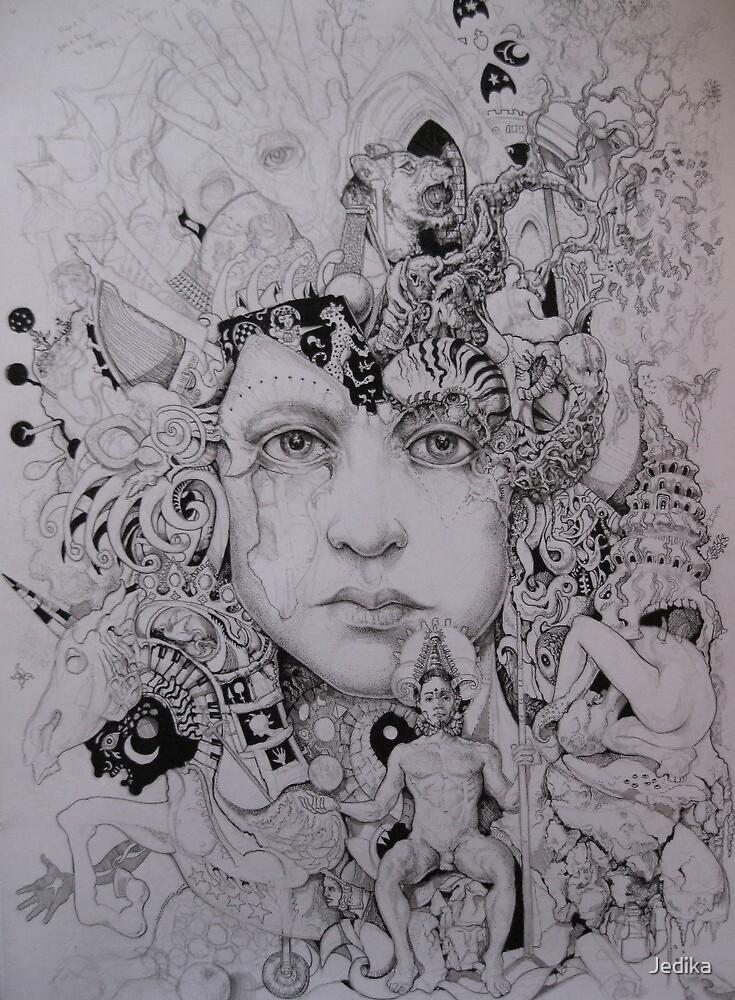 A growing mind (In progress) by Jedika