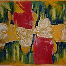 Nefertiti (Lined Abstraction)3 by Josh Bowe
