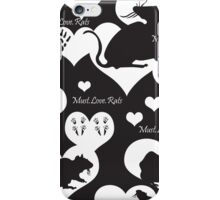 Must. Love. Rats 2011 iPhone Case/Skin