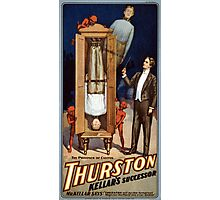 Thurston Kellar's successor 1908 Vintage Poster Photographic Print