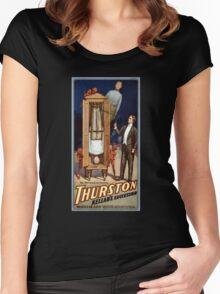 Thurston Kellar's successor 1908 Vintage Poster Women's Fitted Scoop T-Shirt