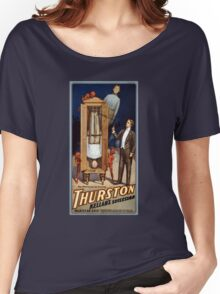 Thurston Kellar's successor 1908 Vintage Poster Women's Relaxed Fit T-Shirt
