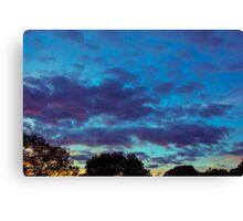 Last Of The Sunset Canvas Print