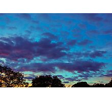 Last Of The Sunset Photographic Print