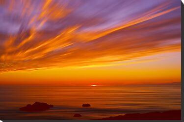 SunBurst SeaScape by David Alexander Elder