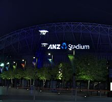 ANZ Stadium by Jacob Caspersen