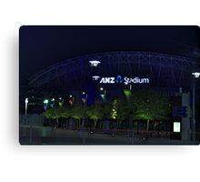 ANZ Stadium Canvas Print