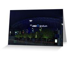 ANZ Stadium Greeting Card