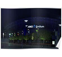 ANZ Stadium Poster