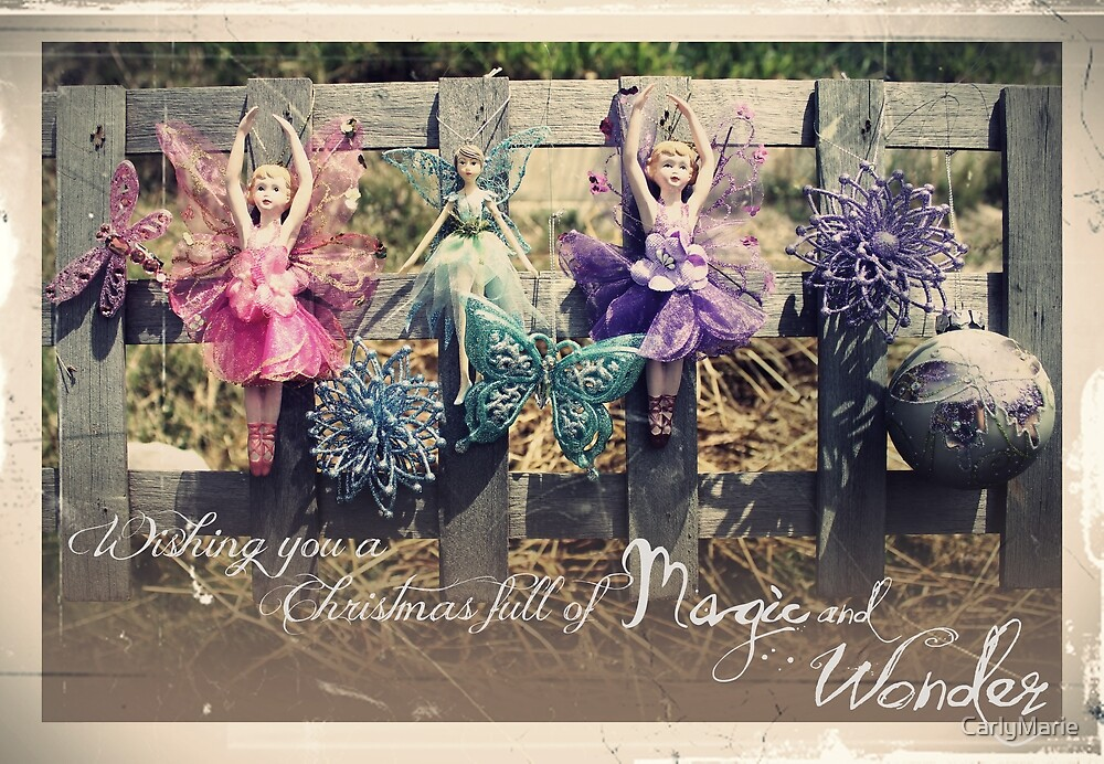 Christmas Vintage Fairies by CarlyMarie