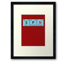 SPN - Periodic Table Framed Print