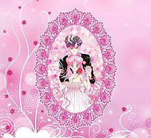 Princess Serenity and Prince Endymion by Rickykun