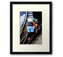 Mr P Oink Framed Print