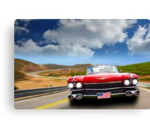 Cadillac USA Canvas Print
