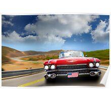 Cadillac USA Poster