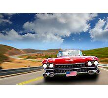 Cadillac USA Photographic Print