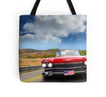 Cadillac USA Tote Bag