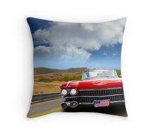 Cadillac USA Throw Pillow