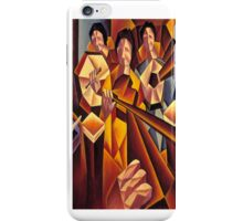 Structured session with pints iPhone Case/Skin