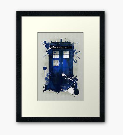 Doctor Who: Tardis Giclee Art Print Framed Print