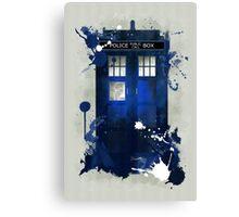 Doctor Who: Tardis Giclee Art Print Canvas Print
