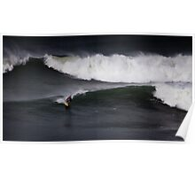 Surfer Bells Beach Poster