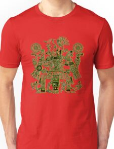 Xiuhtecuhtli, RGB Gods, Myths & Monsters Unisex T-Shirt