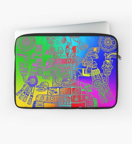 Xiuhtecuhtli, RGB Gods, Myths & Monsters Laptop Sleeve