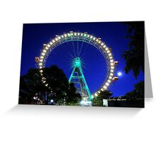 Prater Wheel Greeting Card