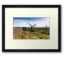 16 Kms To Quorn Framed Print